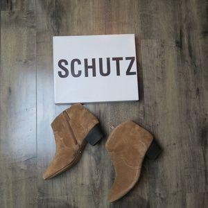 Schutz Abiha Ankle Boots Size 9.5